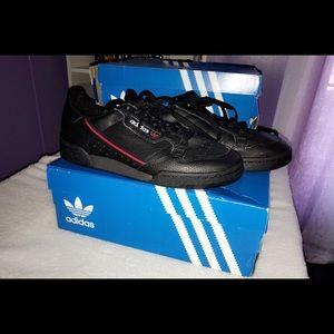 Adidas Originals Continental 1980s Black Sneakers